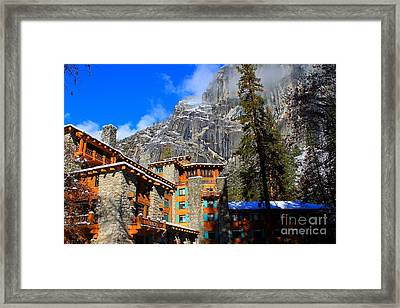 One Fine Winter Morning3 Framed Print by Theresa Ramos-DuVon