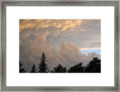 One Friday Sunset  Framed Print