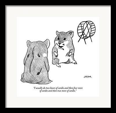 Gerbil Framed Prints