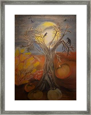 One Hallowed Eve Framed Print by Maria Urso