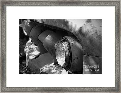 One Head Light Framed Print by Joe Russell