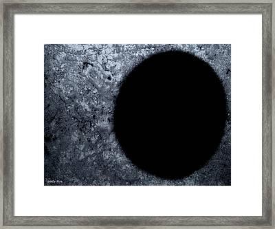 One Hole One Goal Framed Print by Sir Josef - Social Critic -  Maha Art