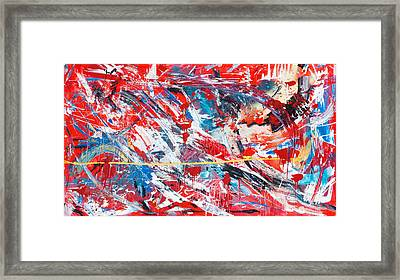 One Hundred Phoenixes Framed Print