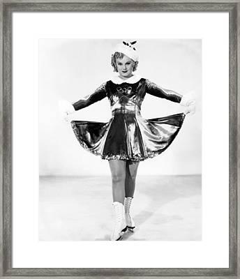 One In A Million, Sonja Henie, 1936, Tm Framed Print