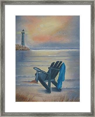 One Is A Lonely Number Framed Print by Kay Novy