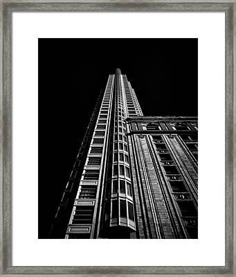 One King Street West Toronto Canada Framed Print by Brian Carson