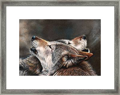 One Last Song Framed Print