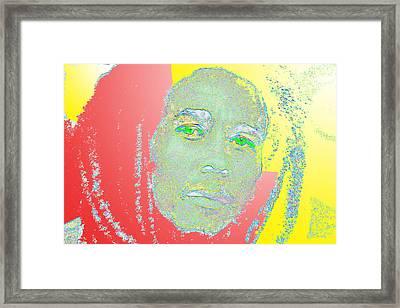 One Legend Framed Print
