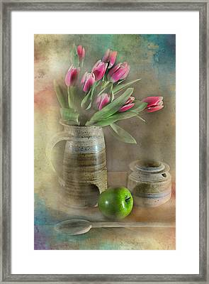 One Less Framed Print by Diana Angstadt
