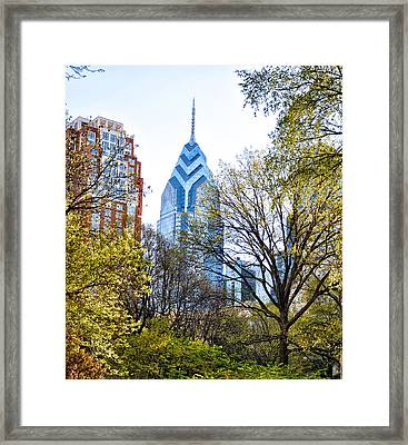One Liberty Place Framed Print