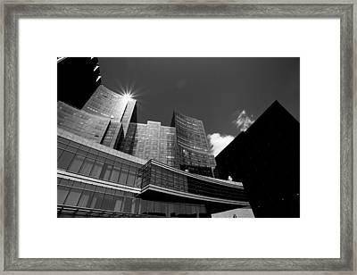 One Light Framed Print by Joelle Hainzelin