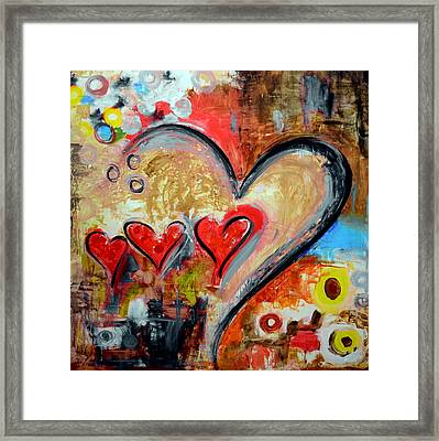 One Love One Destiny Framed Print