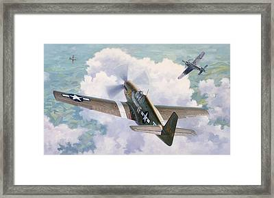 One Man Air Force Framed Print by Wade Meyers