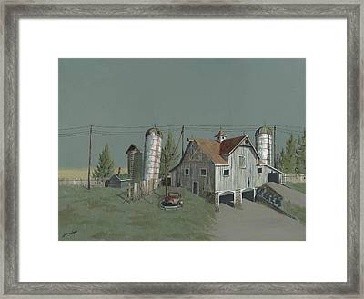 One Man's Castle Framed Print
