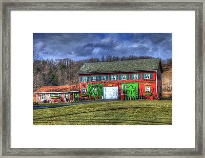 One Man's Treasures Framed Print by David Simons