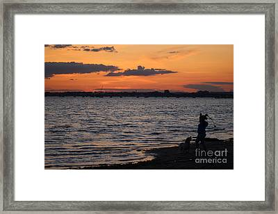 One More Go... Framed Print by Katy Mei