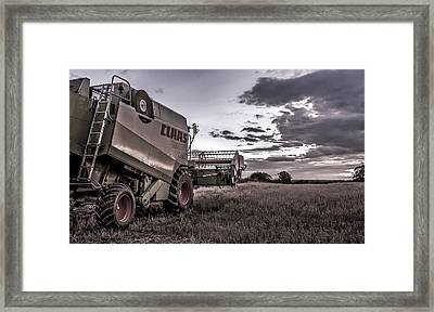 One More Lonely Night Framed Print