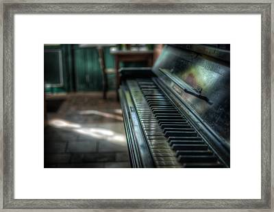 One More Old Tune Framed Print