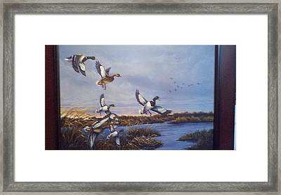 One More Pass Framed Print by Dan Parsons