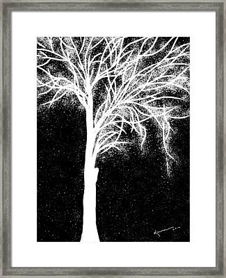 One More Tree Framed Print