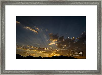 One More Trip Around The Sun Framed Print