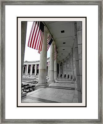 One Nation Under God -bdr Framed Print