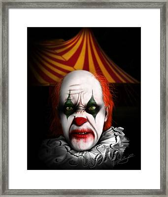One Night Only Framed Print