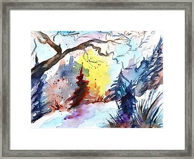 One Of These Mornings Framed Print