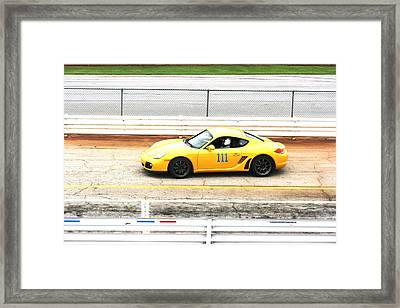 One One One Framed Print