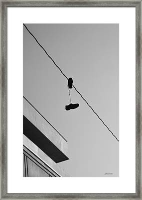 One Pair - Abstract Framed Print