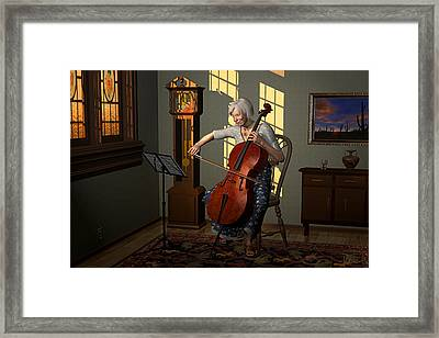 One Perfect Moment Framed Print