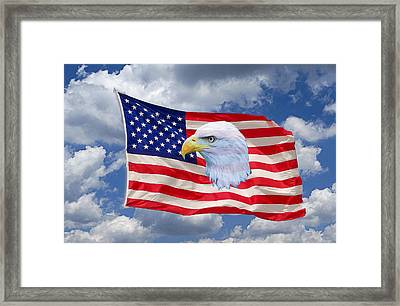 One Proud Bird Framed Print