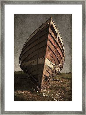 One Proud Boat Framed Print by Svetlana Sewell