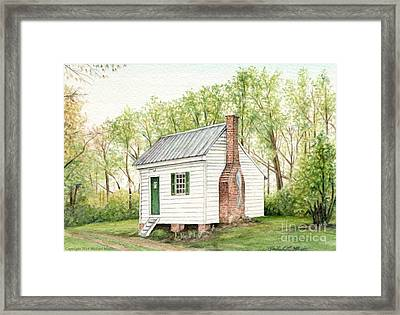 One Room House Framed Print by Michael  Martin
