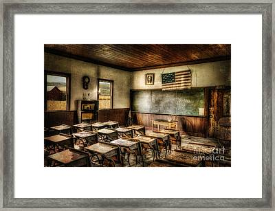 One Room School Framed Print