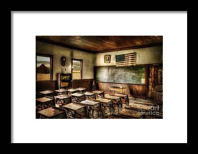 Schoolrooms Framed Prints