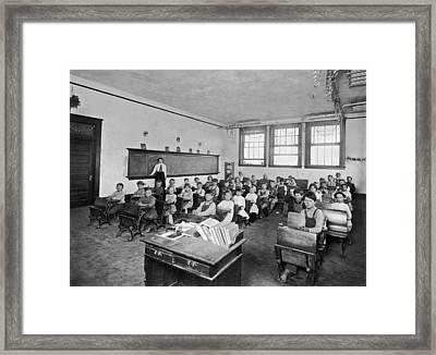 One Room School Framed Print