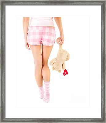 One-sided Love Framed Print by Anna Om