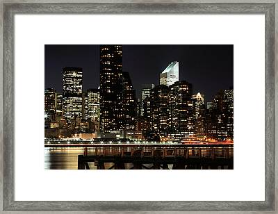 One Slice Of The Apple Framed Print by JC Findley