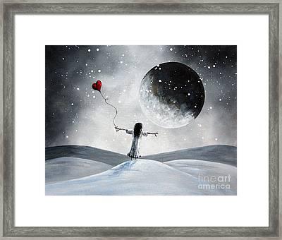 One Small Dream By Shawna Erback Framed Print by Shawna Erback