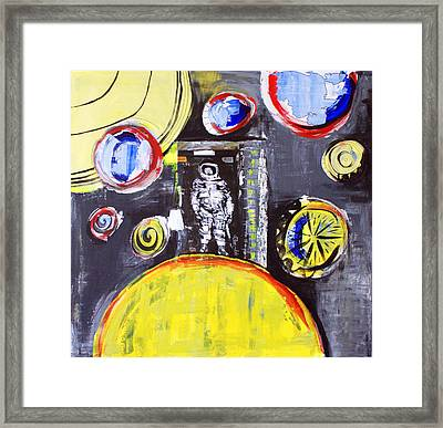 One Small Step Framed Print