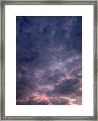 Finally It Rained In Texas Framed Print