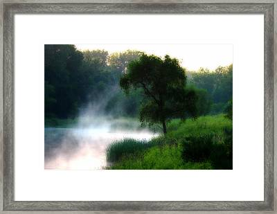 Framed Print featuring the photograph One Spring Morn by Kimberleigh Ladd