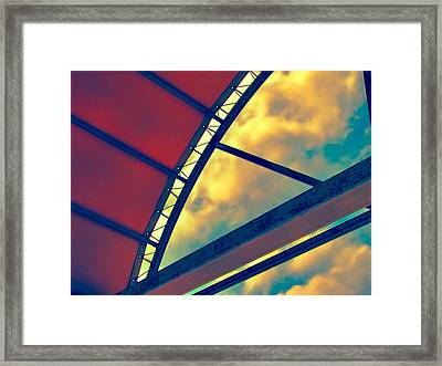 One Step Beyond 2 Framed Print by Wendy J St Christopher