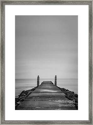 One Step Closer Framed Print by Evelina Kremsdorf