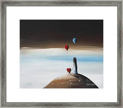 One Step To Heaven By Shawna Erback Framed Print by Shawna Erback