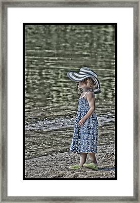 One Summer Day In A Child's  Life Framed Print