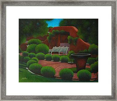 One Summer Morning Framed Print