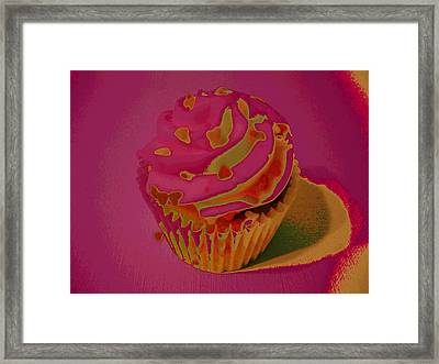 One Sweet Treat Framed Print by Erica  Darknell