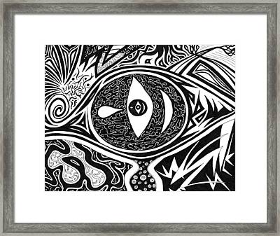One Tear Framed Print by Kerri White